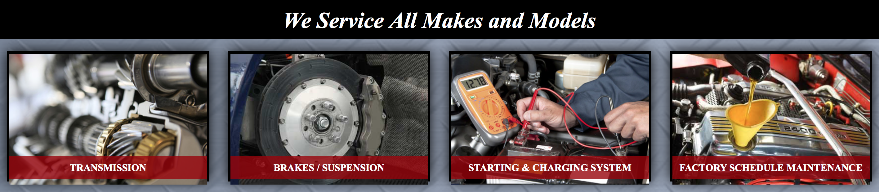 Auto Repair Lakewood - Oil Change, Brakes, Transmission