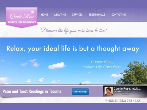 Connie Rose Knows/Best Psychic and Life Coach In Pierce County